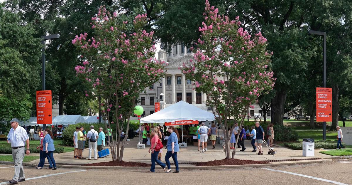 Mississippi Book Festival August 17 2019
